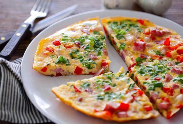 омлетная пицца