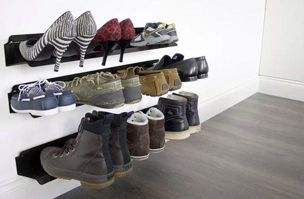 Полка для обуви в прихожую