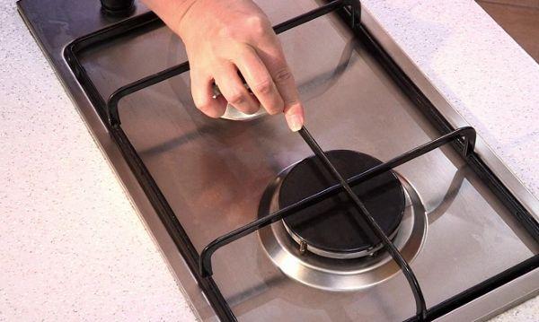Чистая газовая плита