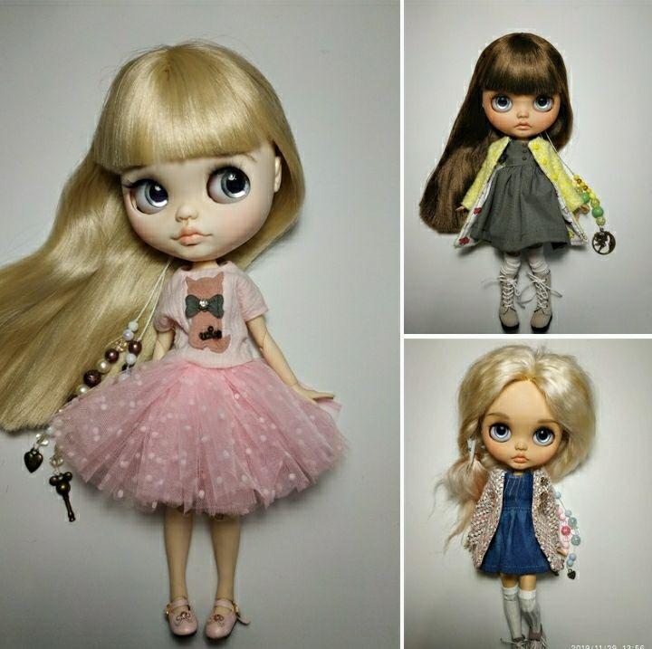 Коллекционная кукла «Блайз»