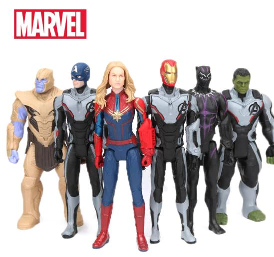Неубиваемые фигурки супергероев «Марвел»