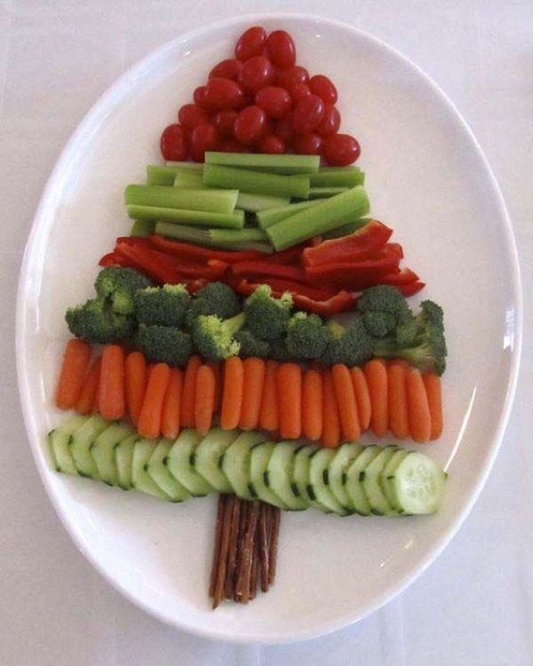 Разборная елка со шпинатным соусом