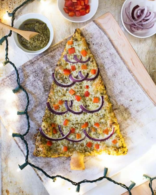 Пицца-елка
