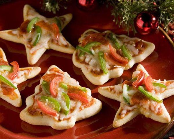 Мини-пиццы печенья