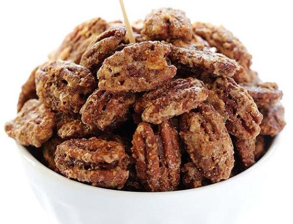 Засахаренные орехи пекан