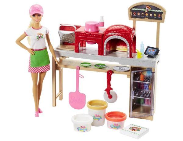 Набор игровой Barbie Пицца-шеф FHR09