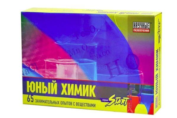 Набор Научные Развлечения Юный химик Start