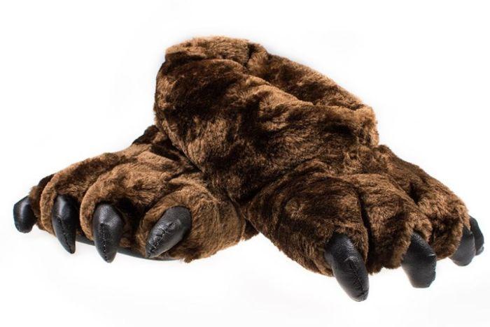 Тапочки медвежьи лапы