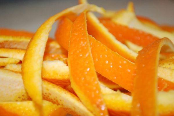 Цедра апельсина для чистки унитаза