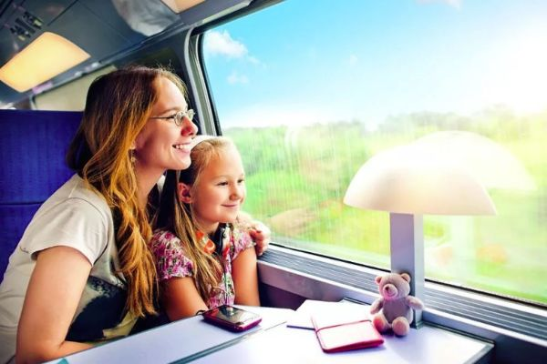 Путешествие с ребенком в поезде