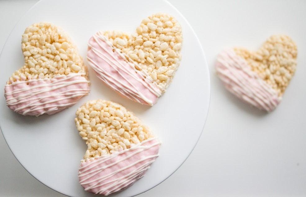 Печенье «Воздушный рис и сладкая любовь»