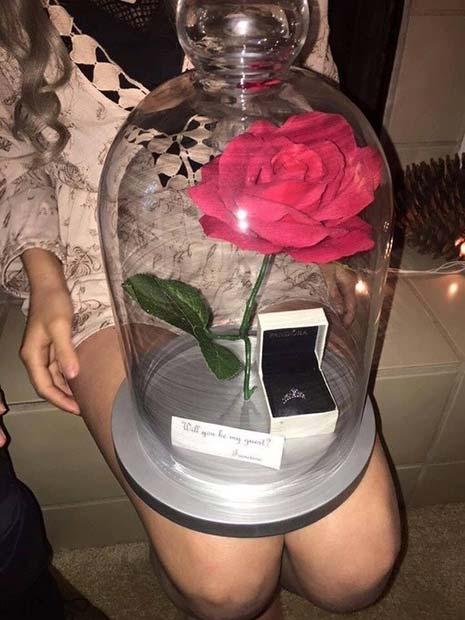 Красавица и чудовище роза