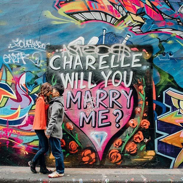 индивидуальное граффити