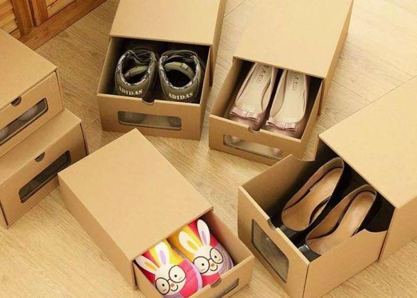 Коробки с обувью