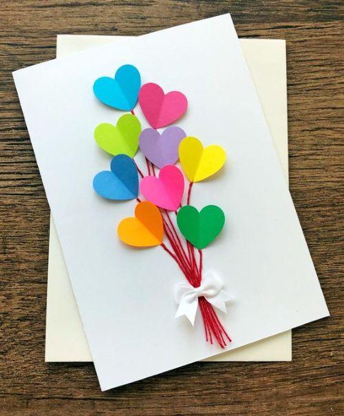 Сердечный букет с признаниями