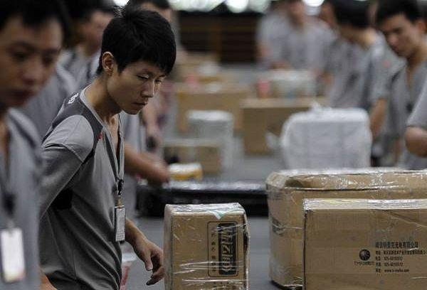 Работники таможни китайцы