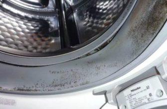 Черная плесень в стиральной машине