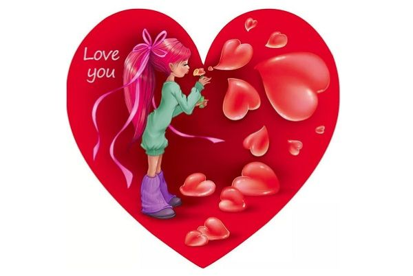 Валентинки для возлюбленного
