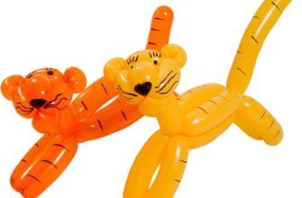 Игрушки из воздушного шарика
