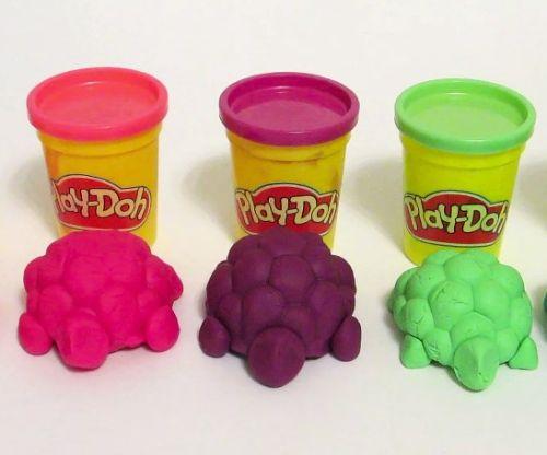 Игрушки из ПлейДо