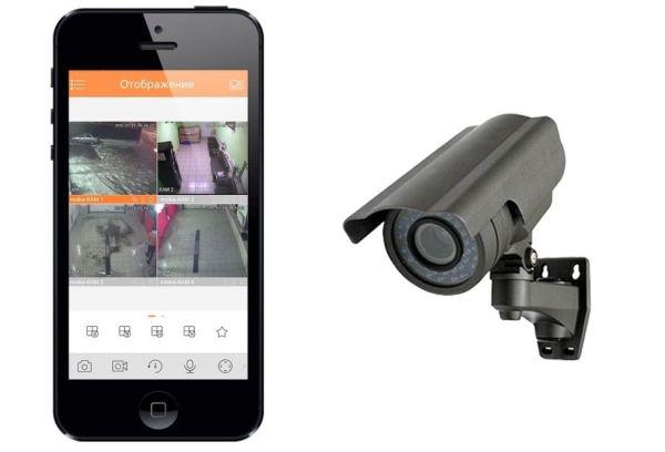 Смартфон и камера