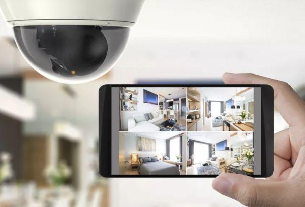 Охранная камера из телефона