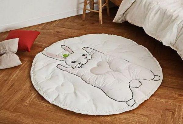 Детские игровые и прикроватные коврики