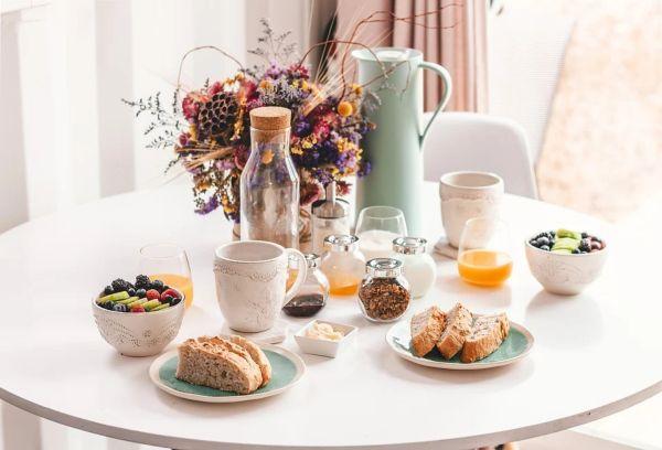 Утренний стол завтрак