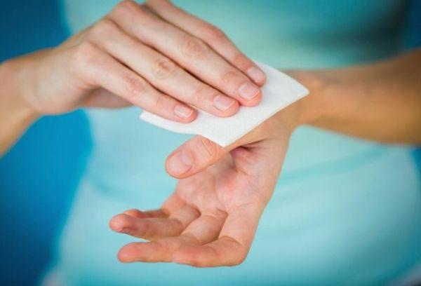 Хлоргексидин для дезинфекции рук