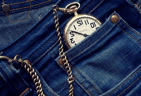Часы в маленьком кармане