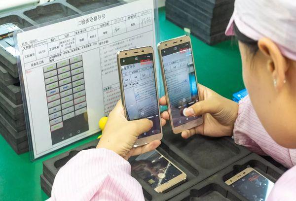 Производство смартфонов