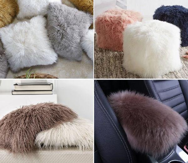 Примеры декоративных изделий из меха
