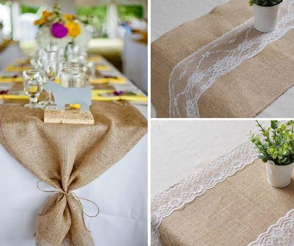 Свадебные украшения стола