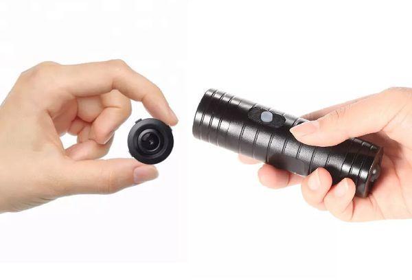 Найти скрытую камеру фонариком