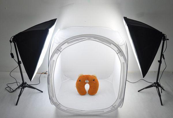 Светлый бокс для рекламных фотографий