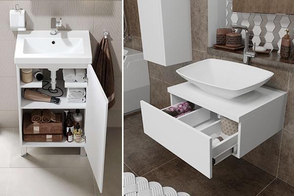 Мебель под раковину в ванной