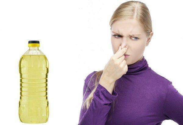 Подсолнечное масло от плохого запаха