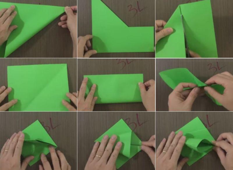 Елка из бумаги 1