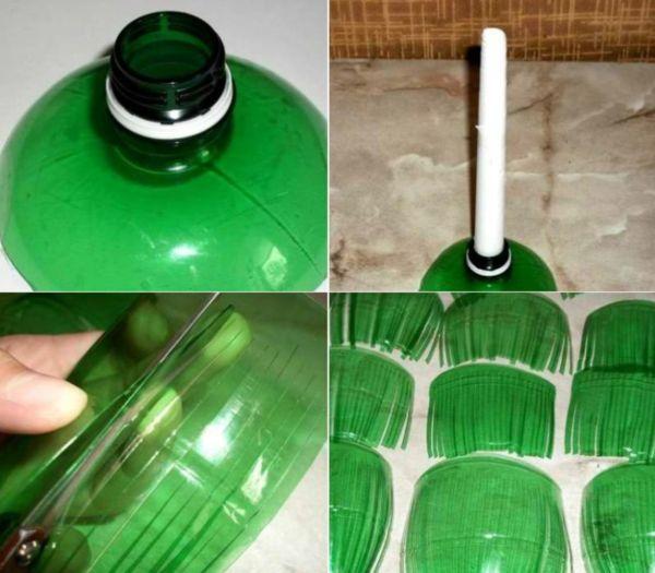 Подставка для елки из бутылки