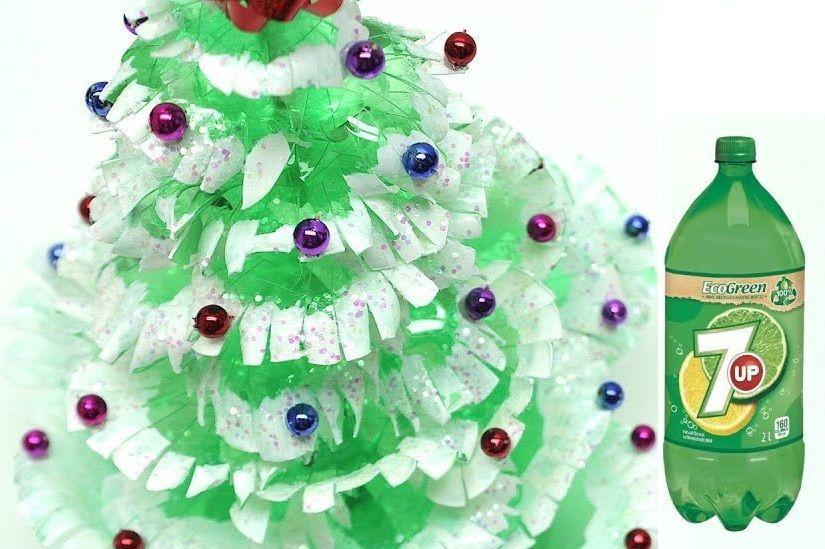 Новогодняя елка самодельная