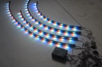 Самодельная светодиодная полоска